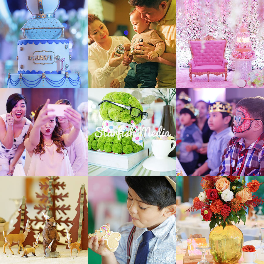 Starfish Media Kiddie Party Photographer based in Metro Manila Philippines