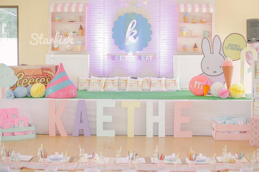Kaethe's 1st Birthday Party Photography by Starfish Media