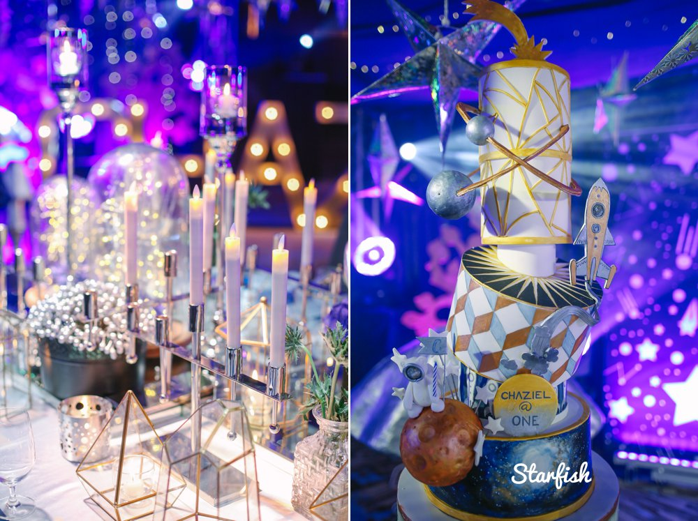 Midori Hotel Pampanga kiddie party space theme styling by Dave Sandoval
